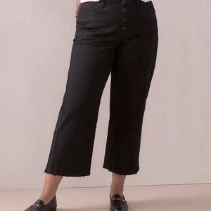 Addition Elle High Rise Wide Leg Crop